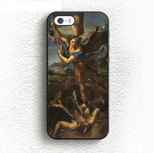 San Miguel derrota a las fundas de teléfono de Satanás para iPhone y Samsung