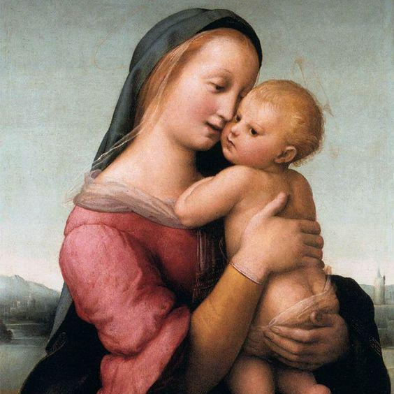 Lona Madonna Tempi hecha a mano de alta calidad
